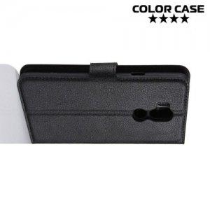 Чехол книжка для LG G7 ThinQ - Черный