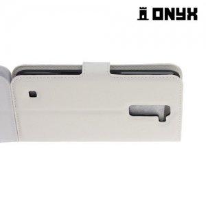 Чехол книжка для LG K10 K410 - Белый