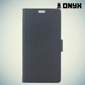 Чехол книжка для LG K3 2017 - Черный