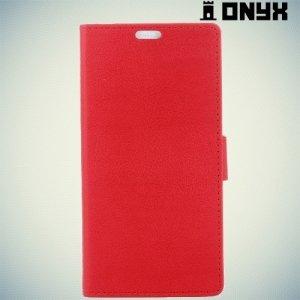 Чехол книжка для LG K3 2017 - Красный