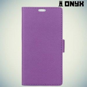 Чехол книжка для LG K3 2017 - Фиолетовый