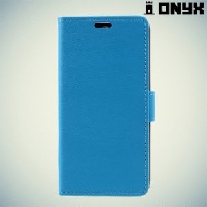 Чехол книжка для LG K4 (2017) X230 - Синий