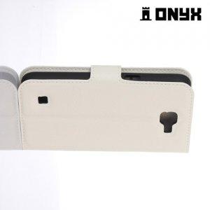 Чехол книжка для LG K4 K130E - Белый