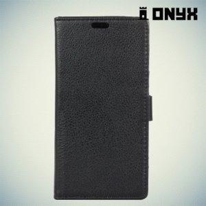 Чехол книжка для LG K8 2017 X300 - Черный