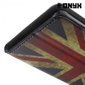 Чехол книжка для LG Nexus 5X - с рисунком Британский флаг
