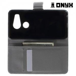 Чехол книжка для LG Nexus 5X - с рисунком Совы