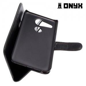 Чехол книжка для LG Nexus 5X - Черный