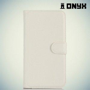 Чехол книжка для LG Ray X190 - Белый