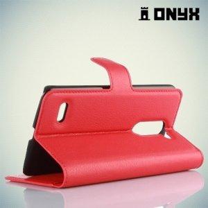 Чехол книжка для LG Ray X190 - Красный