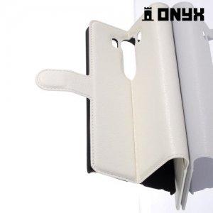 Чехол книжка для LG V10 - Белый