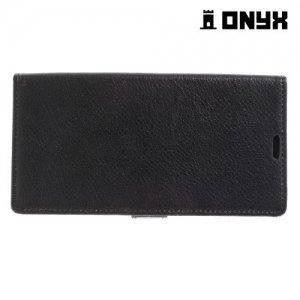 Чехол книжка для LG V20 - Черный