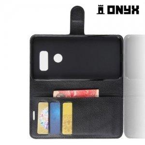Чехол книжка для LG V30 - Черный