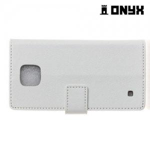 Чехол книжка для LG X cam - Белый