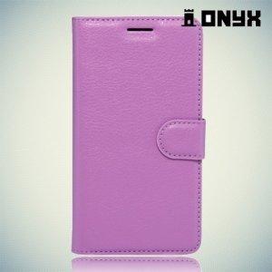 Чехол книжка для LG X Cam - Фиолетовый