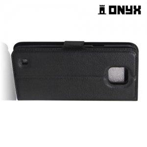 Чехол книжка для LG X Cam - Черный