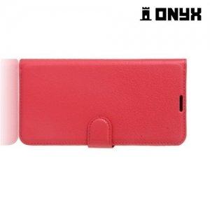 Чехол книжка для LG X Power 2 LGM320 - Красный