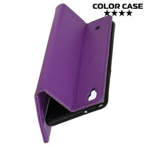 Чехол книжка для LG X Power K220DS - Фиолетовый