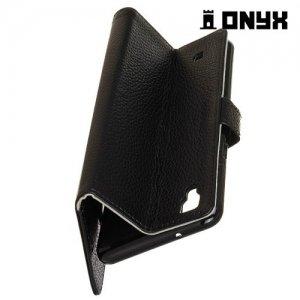 Чехол книжка для LG X Style K200DS - Черный