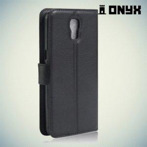 Чехол книжка для LG X view - Черный