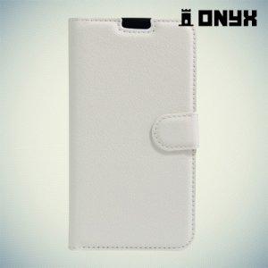 Чехол книжка для LG X view - Белый
