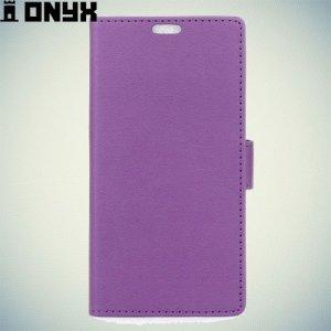 Чехол книжка для Meizu m3 mini - Фиолетовый
