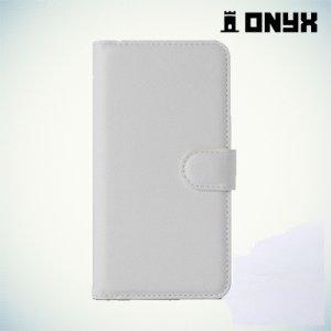 Чехол книжка для Meizu Pro 6 - Белый