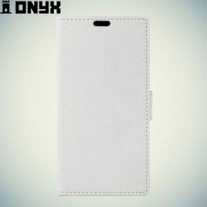 Fasion Case чехол книжка флип кейс для Meizu Pro 6 - Белый