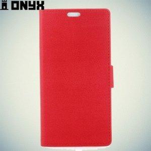 Fasion Case чехол книжка флип кейс для Meizu Pro 6 - Красный