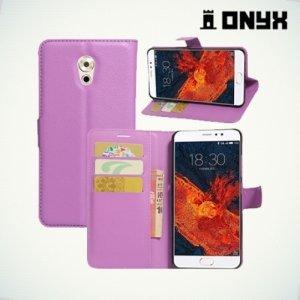 Чехол книжка для Meizu Pro 6 Plus - Фиолетовый