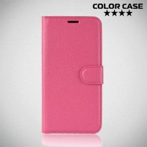 Чехол книжка для Motorola Moto G7 Power - Розовый