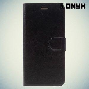 Чехол книжка для Motorola Moto Z Force - Черный