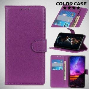 Чехол книжка для Nokia 3.2 - Фиолетовый