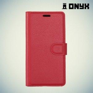 Чехол книжка для Nokia 6 - Красный