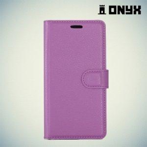 Чехол книжка для Nokia 6 - Фиолетовый
