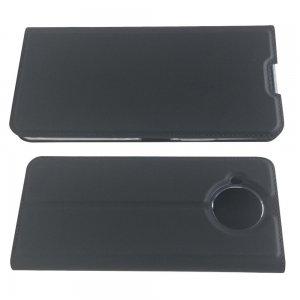 Чехол книжка для Nokia 8.3 5G с магнитом и отделением для карты - Черный