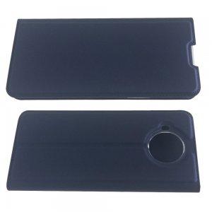 Чехол книжка для Nokia 8.3 5G с магнитом и отделением для карты - Синий