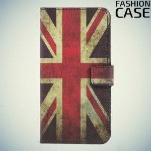 Чехол книжка для OnePlus 5 - с рисунком Британский флаг