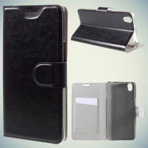 Чехол книжка для OnePlus X - Черный
