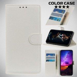 Чехол книжка для Samsung Galaxy A10e - Белый