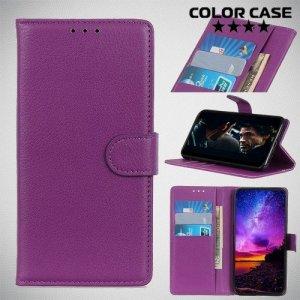 Чехол книжка для Samsung Galaxy A10e - Фиолетовый