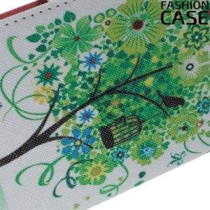 Чехол книжка для Samsung Galaxy A5 2016 - с рисунком Дерево счастья