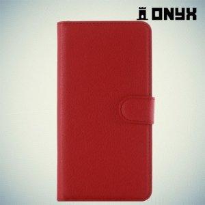 Чехол книжка для Samsung Galaxy A5 2016 SM-A510F - Красный