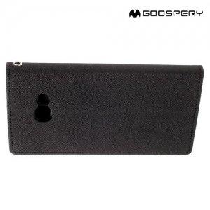 Чехол книжка для Samsung Galaxy A5 2017 SM-A520F Mercury Goospery - Черный