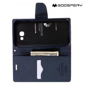 Чехол книжка для Samsung Galaxy A7 2017 SM-A720F Mercury Goospery - Фиолетовый