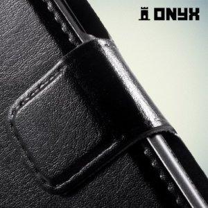 Чехол книжка для Samsung Galaxy J1 - Черный