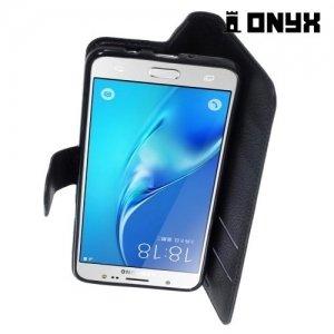 Чехол книжка для Samsung Galaxy J5 2016 - Черный