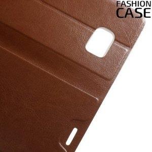 Чехол книжка для Samsung Galaxy Note 7 - Коричневый