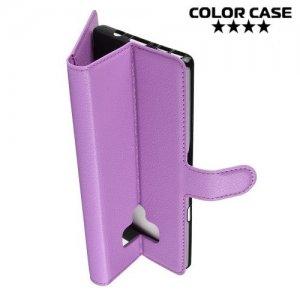 Чехол книжка для Samsung Galaxy Note 9 - Фиолетовый