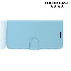 Чехол книжка для Samsung Galaxy S10e - Голубой