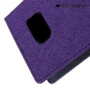 Чехол книжка для Samsung Galaxy S7 Mercury Goospery - Фиолетовый